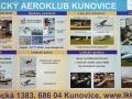 Letecká škola a muzeum poutač